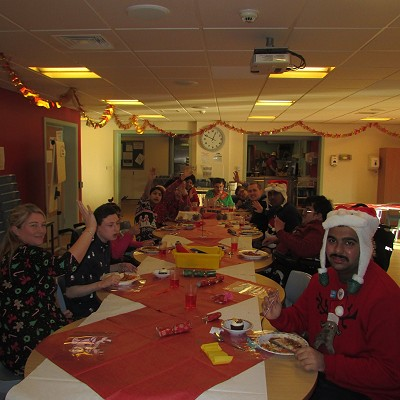 Pupils' Christmas Lunch