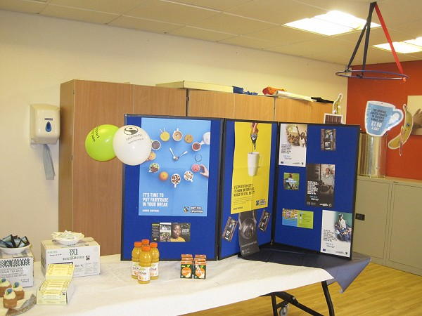 Fairtrade display