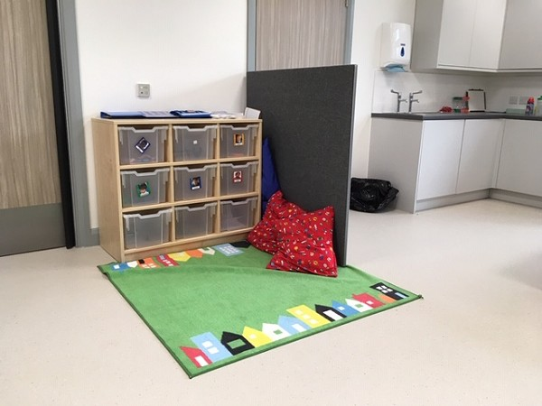 play area in a classroom