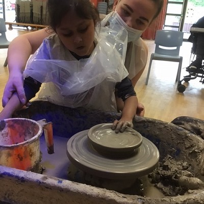 Pottery at Newfield