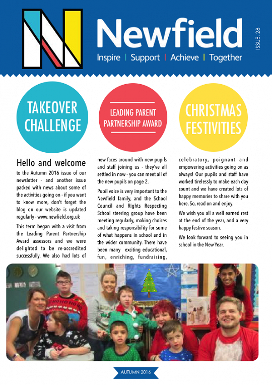 Newfield Newsletter Autumn 2016