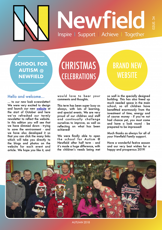 Newfield Newsletter Autumn 2018