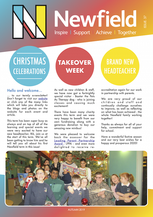 Newfield Newsletter Autumn 2019