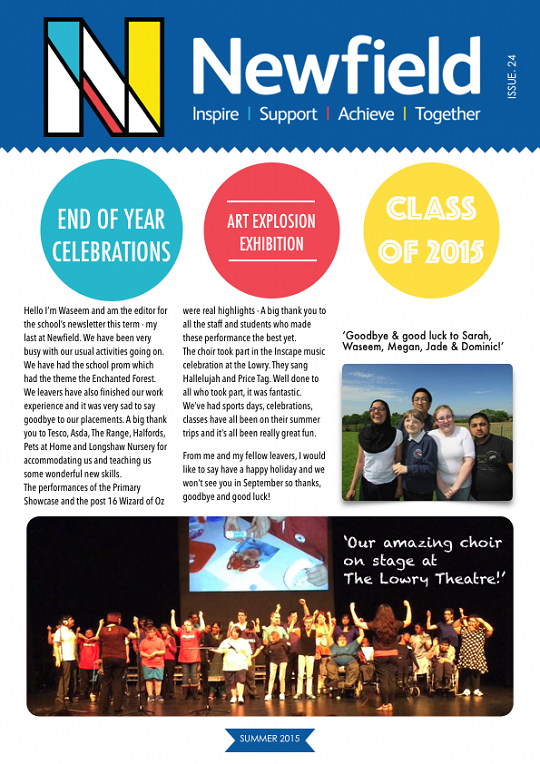 Newfield Newsletter Summer 2015