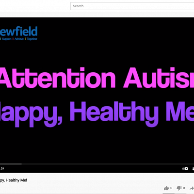 Attention Autism - Happy, Healthy Me!